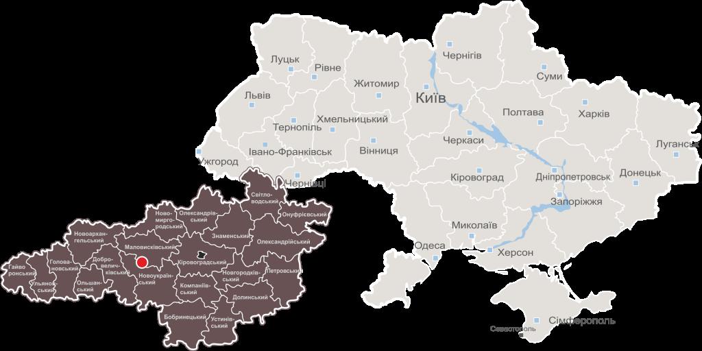 карта укр